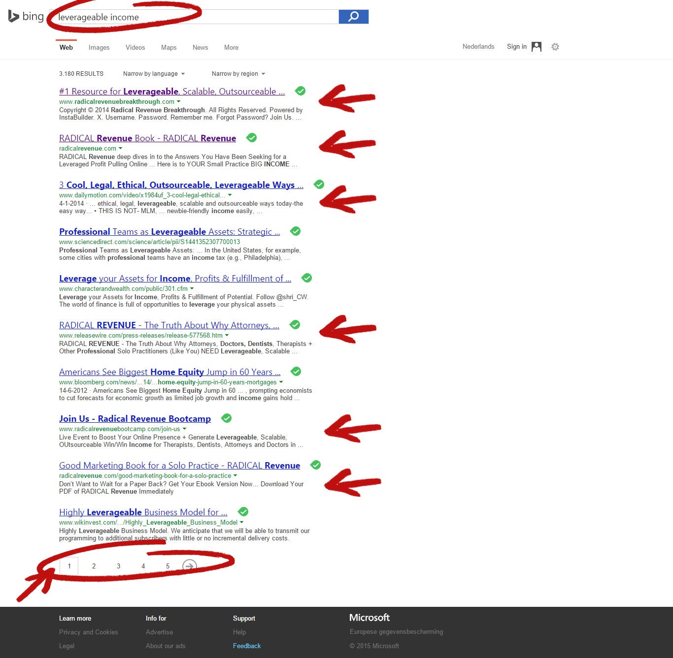 leverageable income number 1 on bing tiphanie jamison