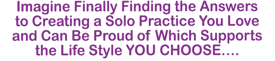 grow your solo practice